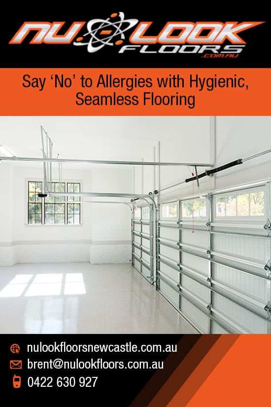 "Say ""No"" to Allergies with Hygienic, Seamless Flooring"