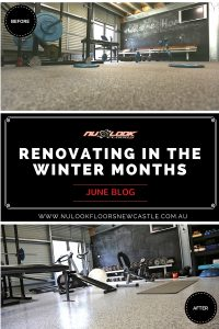 Renovating in the winter months